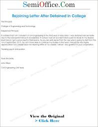 Rejoining Letter After Study Leave