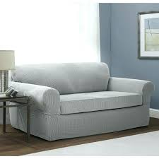 2 piece t cushion sofa slipcover stretch sofa slipcover 2 piece stretch 2 piece sofa slipcover