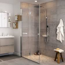 beauty enhancing types of glass shower doors