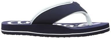 Flip Flop Shoe Size Chart Animal White Animal Swish Logo Girls Flip Flop Shoes Flops