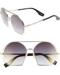 Amazing Deal on Women's <b>Marc</b> Jacobs 56Mm Round <b>Sunglasses</b> -