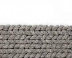 braided wool carpet rectangle large size