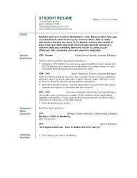 Objective In A Resume Objective For Resumes By Objective Statement