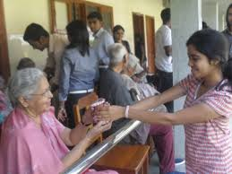 to holy spirit old age home by humanities club t john college humanities