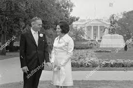 Douglas B Cornell his bride former Helen Editorial Stock Photo ...
