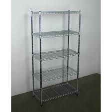white wood 5 tier corner shelving unit wire