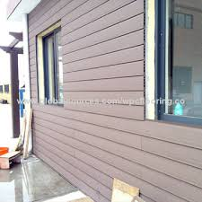 china durable non fading plastic wpc outdoor wall panels