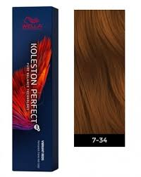 Alfaparf Yellow Hair Color Chart Wella Koleston Perfect Me Permanent Hair Color 7 34 Medium Blonde Gold Red