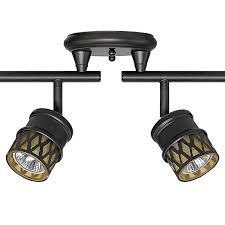 track lighting kits home theater industrial. Amazon.com: Globe Electric Kearney 6-Light Foldable Track Lighting Kit, Oil Rubbed Bronze Finish, Champagne Glass Shades, 6 Bulbs Included, 59086: Home Kits Theater Industrial N