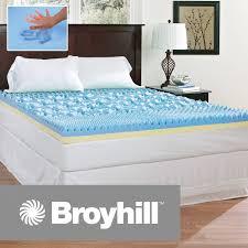 memory foam mattress topper walmart. Simple Mattress Broyhill Comfort Temp 4 To Memory Foam Mattress Topper Walmart L