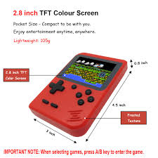 Kids Retro <b>Handheld Games</b> Console with 4- Buy Online in Burkina ...