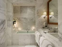 Bathroom Luxury Marble Bathrooms - White marble bathroom