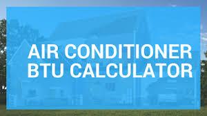 Ac Btu Size Chart Air Conditioner Btu Calculator Chart