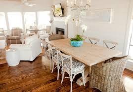 10 Ways: Create A Coastal Beach House Dining Space