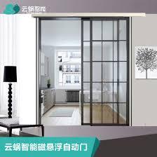 china barn automatic glass sliding door