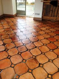 terra cotta tile flooring home depot terracotta tiles in kerala porcelain look floor that looks like red clay pros and cons mexican spanish kitchen