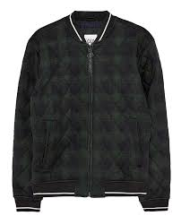 Zara Men S Coat Size Chart Zara Men Quilted Checked Bomber Jacket 4432 451 At Amazon