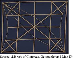 Micronesian Stick Chart Introducing Micronesian Stick Charts As Models Of Visual