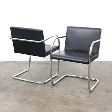 van der rohe furniture. Interesting Furniture 4 X BRNO Arm Chair By Ludwig Mies Van Der Rohe For Fasem 1930s For Van Der Furniture