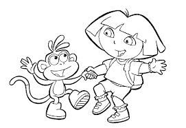 Coloriage Dora Imprimer Avec Babouche En Princesse Coloriage Et