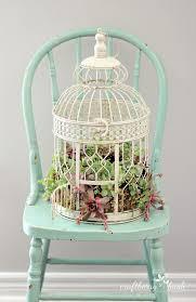 Jaulas decoradas con plantas. Birdcage DecorBirdcage PlanterVintage BirdcageBirdcage  CenterpiecesWedding ...