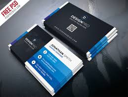 Graphicmore Business Card Template Free Psd File Free Photoshop