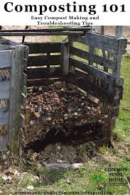 home compost bin made with pallets