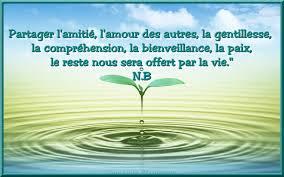 Citation Partager Lamitié Lamour Des Autres