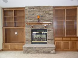 Indoor Fake Fireplace Faux Stone Fireplace Ideas