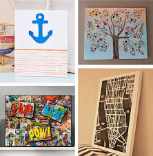 diy canvas wall art ideas 30 tutorials inside diy painting idea 12