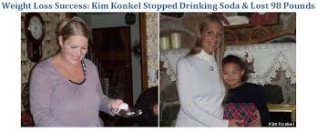 weight loss from not drinking soda