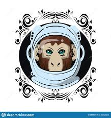 Monkey Graphic Design Monkey Face Cool Sketch Stock Vector Illustration Of Mascot