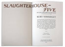 lot detail kurt vonnegut signed slaughterhouse five leather kurt vonnegut signed slaughterhouse five leather bound limited edition
