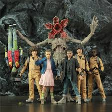 Stranger Things 7 Inch Figures ELEVEN HOPPER DUSTIN LUCAS WILL MIKE by  McFarlane