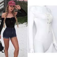 Bodysuits : Sleeveless INDRESSME Fashion Women 2 Piece Sets ...