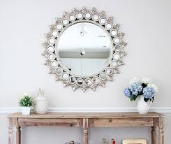 circular wall mirror decor