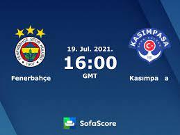 Fenerbahçe vs Kasımpaşa live score, H2H and lineups