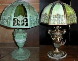 slag lamp repair before and after slag lamp repair
