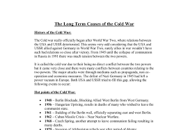 causes of the cold war essay essay on war is needed essays for cheap essay on war is needed essays for cheap acircmiddot causes of the cold