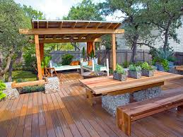 deck furniture ideas. Stunning Backyard Deck And Pergola Ideas With Furniture O