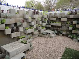 cinder block garden wall. Cinder Block Lettuce Wall Garden W