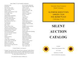 silent auction program template stunning auction catalog template gallery resume ideas