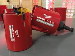 new milwaukee tools. the new milwaukee tool north america big hawg with carbide teeth cuts fast and can apparently handle hundreds of nails. tools