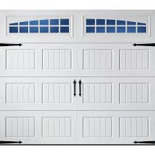 garage door parts lowesShop Pella Carriage House 96in x 84in Insulated White Single
