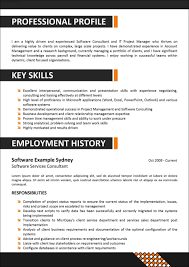 Corporate Resume Templates corporate resume templates Enderrealtyparkco 1
