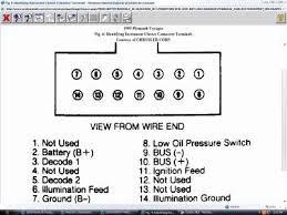 voyager dash wiring diagram schematics and wiring diagrams repair s wiring diagrams autozone