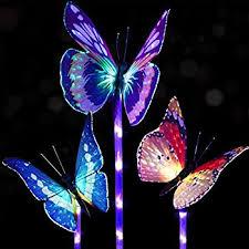 garden led lights. Doingart Garden Solar Lights Outdoor - 3 Pack Stake Light Multi-color Changing LED Led G