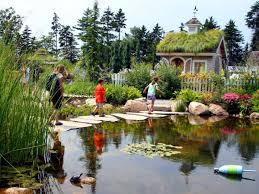 children s and even turtles find a lot to enjoy in the bibby and harold alfond children s garden at coastal maine botanical gardens