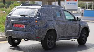2018 renault duster specs. brilliant 2018 2018 dacia duster spy photo  in renault duster specs