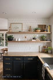 Inspiring How Deep Should Open Kitchen Shelves Be To Organize